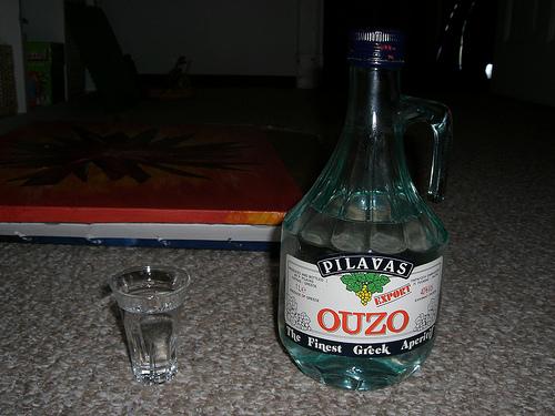 Рецепт водки Узо