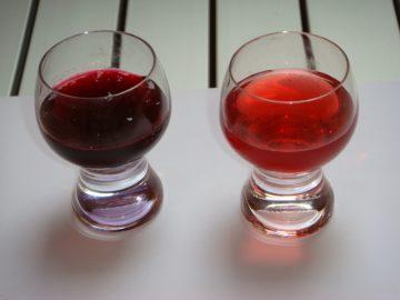Домашняя наливка из красной и черной смородины