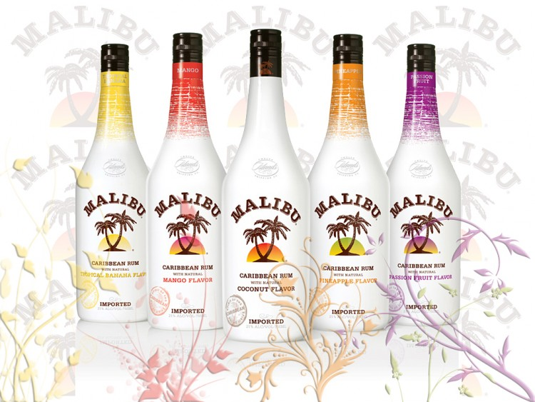 Как и с чем пьют ликер Малибу