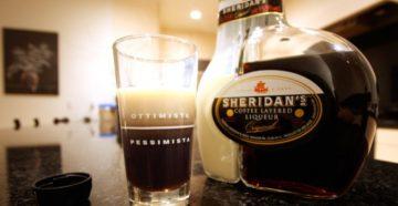 Как наливать и пить Шериданс