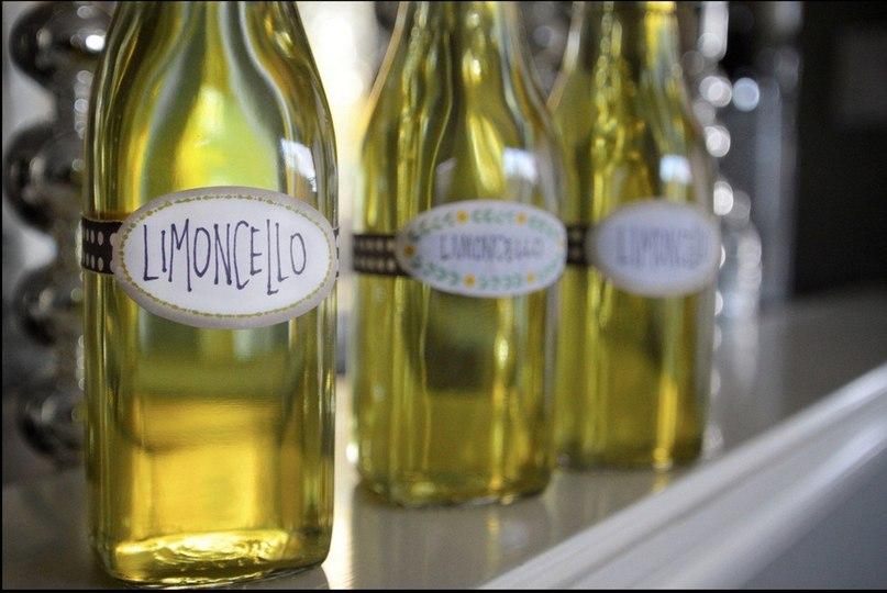 Как пить лимончелло в домашних условиях
