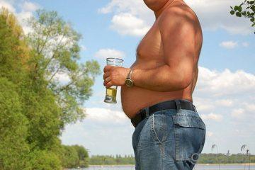 Толстеют ли от пива? Почему толстеют от пива?