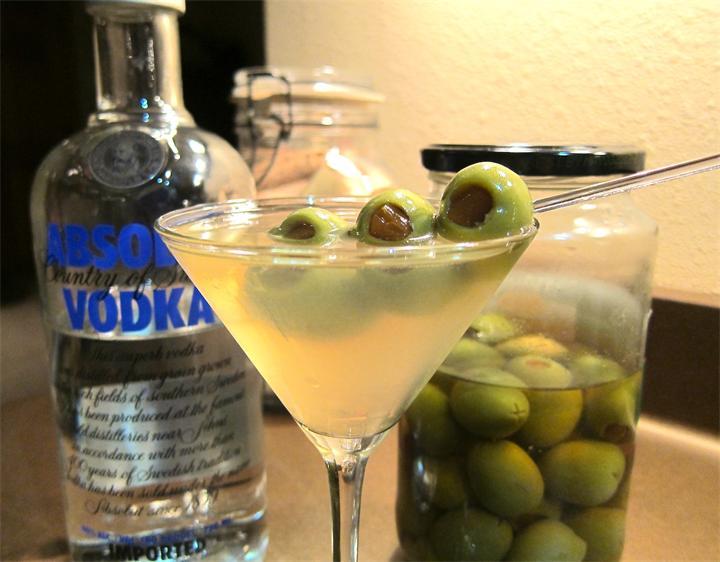 Грязный мартини