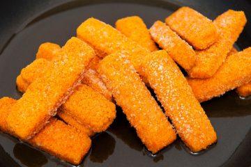 Соленые сырные палочки к пиву — рецепт закуски