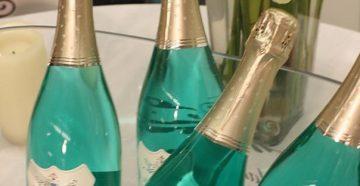 Синее и голубое шампанское