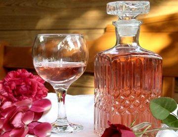 Шампанское из чайной розы