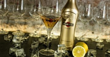 Как правильно пить мартини