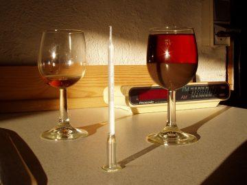 Вино выпало в осадок