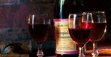 Вино божоле нуво