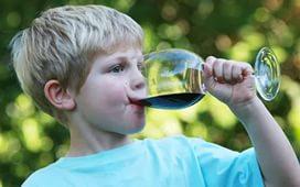 Можно ли детям пить вино – мнения экспертов
