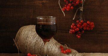 Рецепт домашнего вина из калины