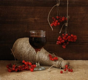 Вино домашнее рецепт калина