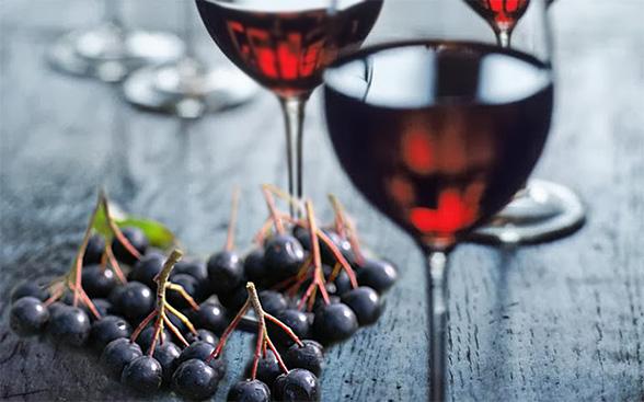 Рябиновая вино в домашних условиях