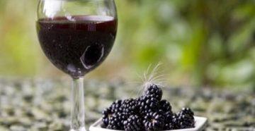 Рецепт вина из ежевики