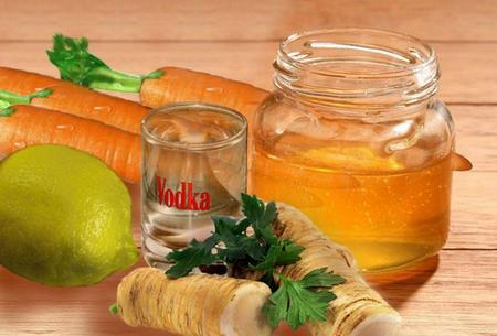 Настойка водки с медом от простуды