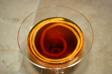Домашний мандариновый ликер