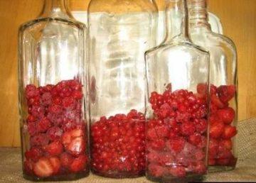 Рецепт настойки из малины на спирту