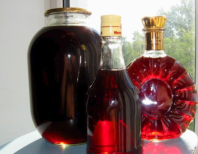 Как сделать водку из рябины