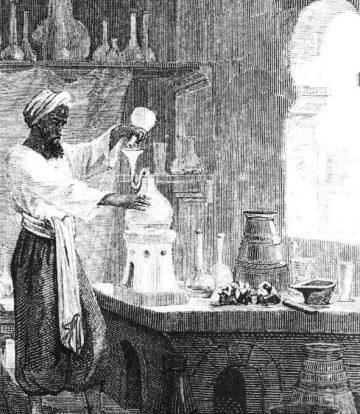 Восточные алхимики изобрели перегонный куб